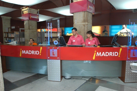 Reci n titulados para encargarse de las oficinas de for Oficina de turismo de la comunidad de madrid